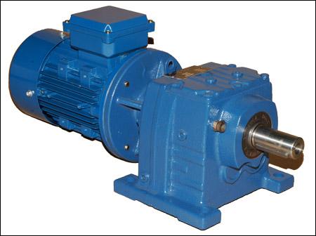 Цилидрический мотор-редуктор HR
